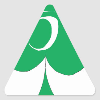 Adesivo Triangular Irlandês afortunado 5 dos clubes, fernandes tony
