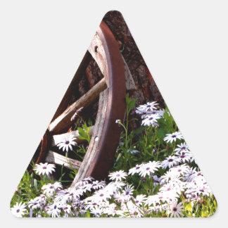 Adesivo Triangular Jardim calmo