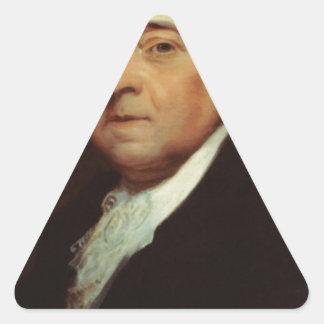 Adesivo Triangular John Adams