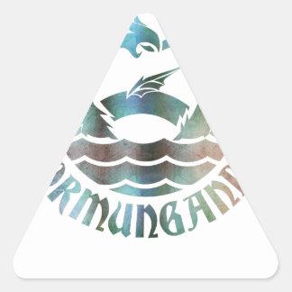 Adesivo Triangular Jormungandr