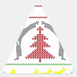 Adesivo Triangular karaté