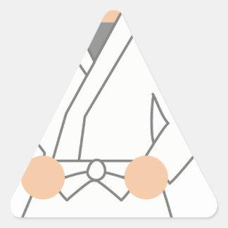 Adesivo Triangular Karate Kid