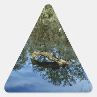 Adesivo Triangular Lagoa da cinza do pop
