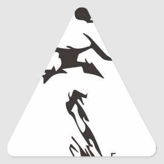 Adesivo Triangular Léon Tolstói