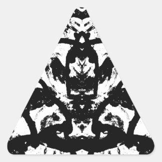 Adesivo Triangular linhas