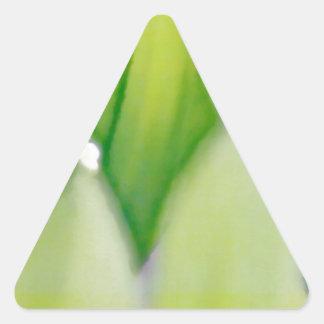Adesivo Triangular Lírio do esboço do vale