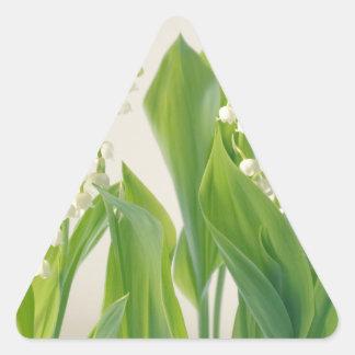 Adesivo Triangular Lírio do vale