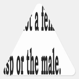 Adesivo Triangular Lisp fêmea, 2