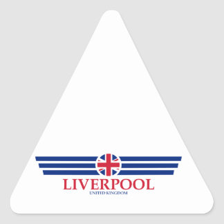 Adesivo Triangular Liverpool
