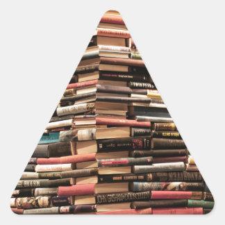 Adesivo Triangular Livros