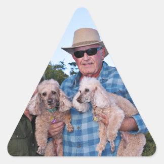 Adesivo Triangular Lixívia - caniches - Romeo Remy