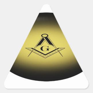 Adesivo Triangular Luz maçónica