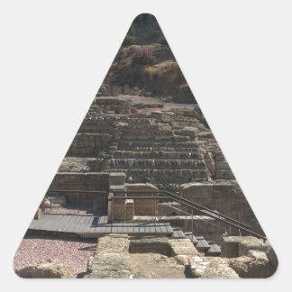 Adesivo Triangular Malaga; anfiteatro