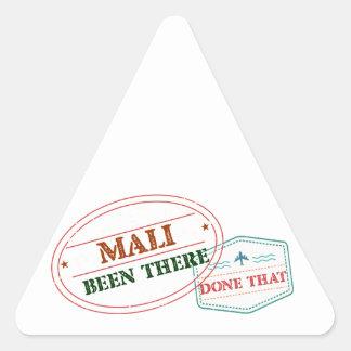 Adesivo Triangular Mali feito lá isso