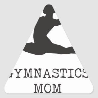Adesivo Triangular Mamã da ginástica