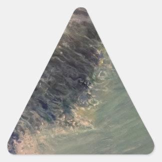Adesivo Triangular Maré do rasgo