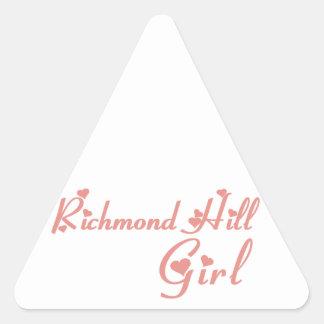 Adesivo Triangular Menina de Richmond