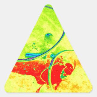 Adesivo Triangular Mergulhador de mergulhador de Havaí