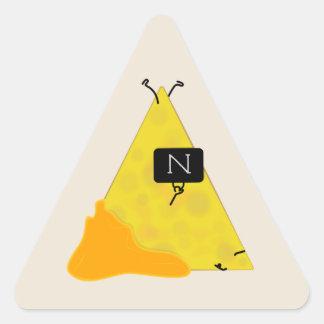 Adesivo Triangular Microplaqueta de tortilha do SACO do NACHO com o