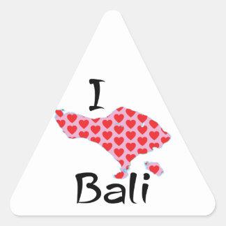Adesivo Triangular Mim coração Bali