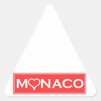 Adesivo Triangular Mónaco