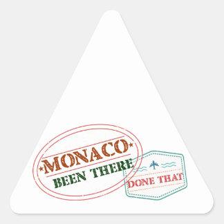 Adesivo Triangular Monaco feito lá isso