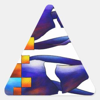 Adesivo Triangular Montessimia V1 - fósseis antigos