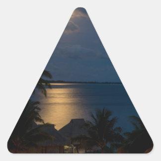 Adesivo Triangular Moon on bora bora