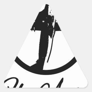 Adesivo Triangular Mosca afastado