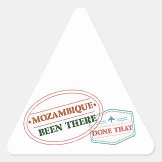 Adesivo Triangular Mozambique feito lá isso