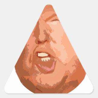 Adesivo Triangular não meus namorados