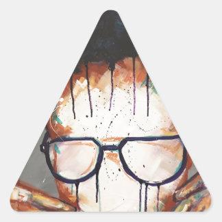 Adesivo Triangular Naturalmente VIII
