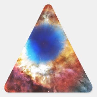 Adesivo Triangular Nebulosa da hélice