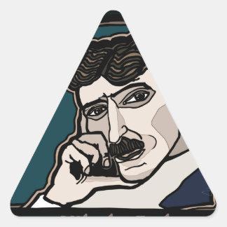Adesivo Triangular NikolaTesla