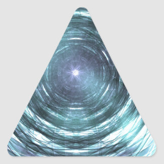 Adesivo Triangular No buraco negro