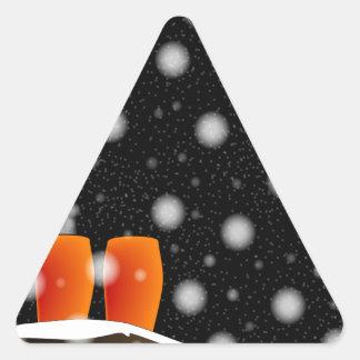 Adesivo Triangular No telhado