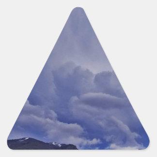Adesivo Triangular Nuvens 1 do rastejamento