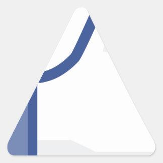 Adesivo Triangular o facebook GOSTA de me de manusear acima!
