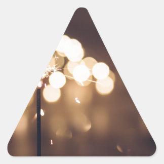 Adesivo Triangular O melhor presente de aniversário