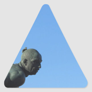 Adesivo Triangular O monumento Quattro Mori (dos quatro amarra)