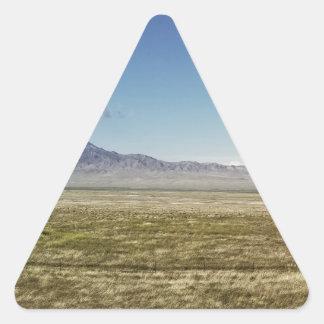 Adesivo Triangular O panorama máximo 1 do piloto
