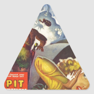 Adesivo Triangular O poço