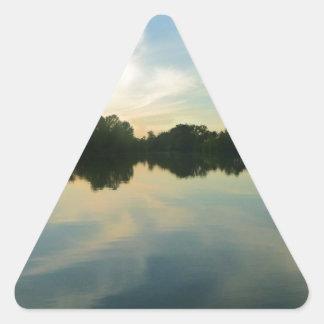 Adesivo Triangular Oásis secretos