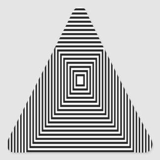 Adesivo Triangular Olhar de túnel