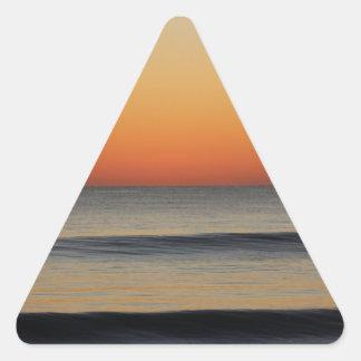 Adesivo Triangular Ondas em você horizonte