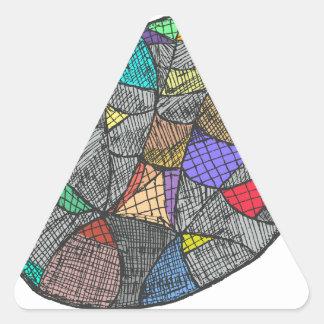 Adesivo Triangular Opal preto
