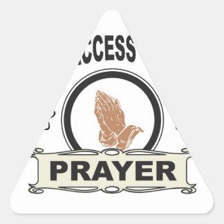 Adesivo Triangular oração do acesso aberto