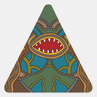 Adesivo Triangular Os oásis