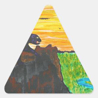Adesivo Triangular Pantera no prowl