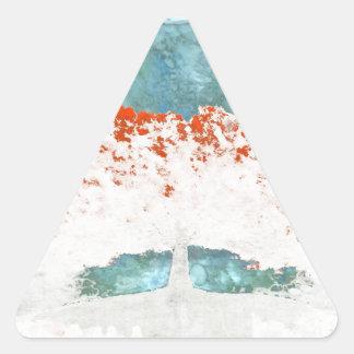 Adesivo Triangular Para nunca